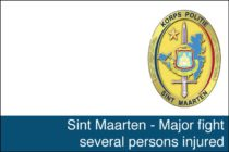 St. Maarten – Major fight several persons injured