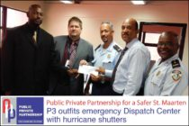 St. Maarten – P3 outfits emergency Dispatch Center with hurricane shutters