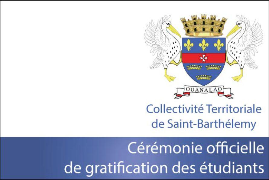 Collectivité De Saint-Barthélemy – Cérémonie officielle de gratification des étudiants