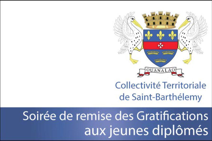 Saint-Barthélemy – Soirée de remise des Gratifications aux jeunes diplômés