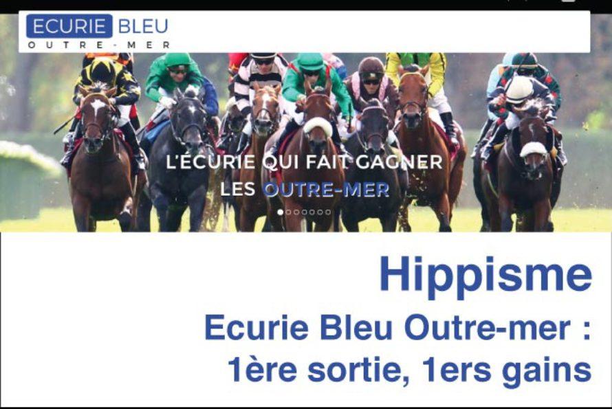 Hippisme – Ecurie Bleu Uutre-mer : 1ère sortie, 1ers gains