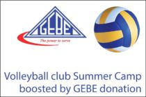 St. Maarten – Volleyball club Summer Camp boosted by GEBE donation