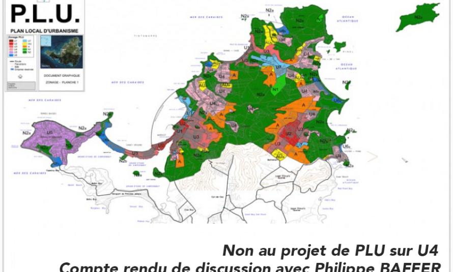 Non au projet de PLU sur U4 : Compte rendu de discussion avec Philippe BAFFER – protection des aspects dans le code de l'urbanisme