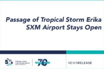Passage of Tropical Storm Erika – SXM Airport Stays Open