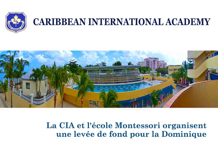 La CIA et l'école Montessori organisent une levée de fond pour la Dominique