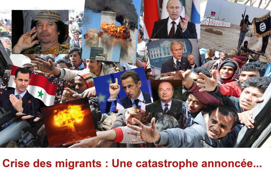 Crise des migrants : Une catastrophe annoncée faisant suite à l'irresponsabilité de W.Bush ? Pas que…