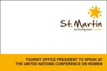TOURIST OFFICE PRESIDENT TO SPEAK AT THE UNITED NATIONS CONFERENCE ON WOMEN