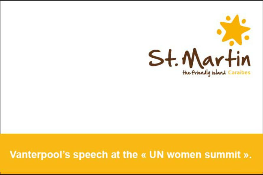 TOURISM OFFICE PRESIDENT ADDRESSED ISSUE OF EMPOWERING WOMEN AT SUMMIT AT UN HEADQUARTERS