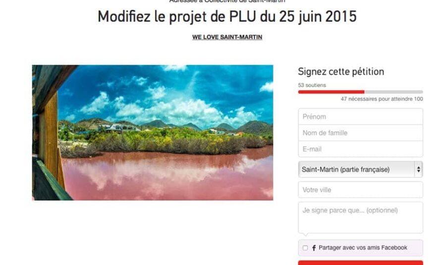 Pétition adressée à la collectivité de Saint-Martin : Modifiez le projet de PLU du 25 juin 2015 – WE LOVE SAINT-MARTIN