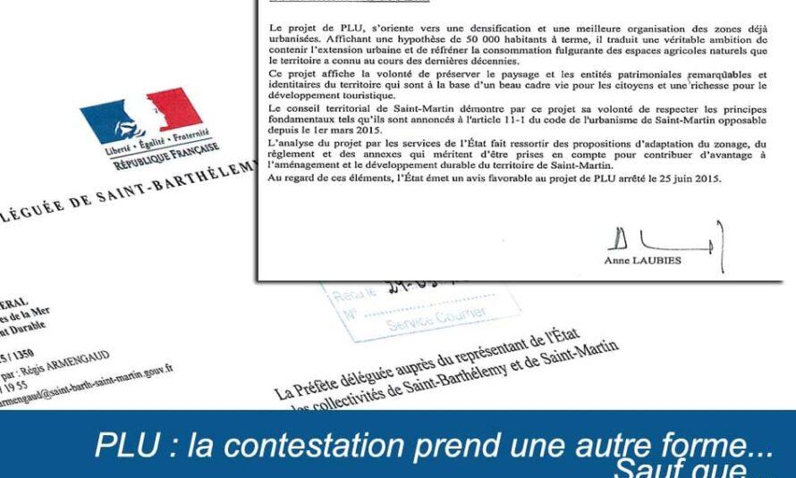 """PLU : la contestation prend une autre forme… Sauf que, l'avis de l'état est """"favorable"""" au projet arrêté le 25 Juin 2015"""