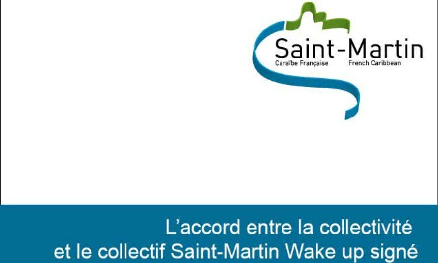 L'accord entre la collectivité et le collectif Saint-Martin Wake up concernant le PLU a été signé ce soir en collectivité à 21:4