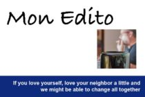 Edito (English version) :  population of Saint-Martin, to my readers and friends …