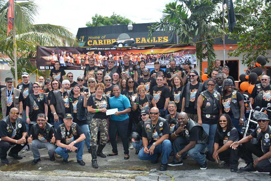 SXM Airport Sponsors Caribbean Eagles November Bike Fest
