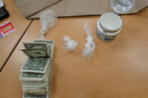 Two persons were arrested on drug charges