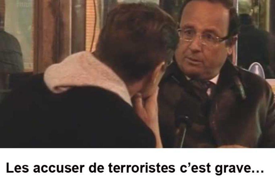 Interview François Hollande 2008 : Les accuser de terroristes c'est grave…