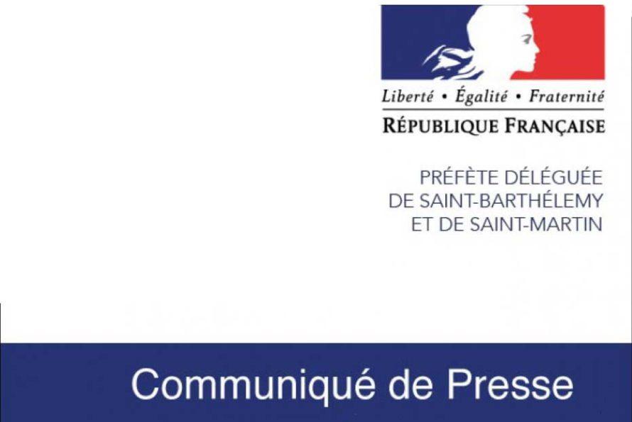Prefecture de St-Barthélemy & St-Martin : Situation sanitaire de l'île de Saint Martin