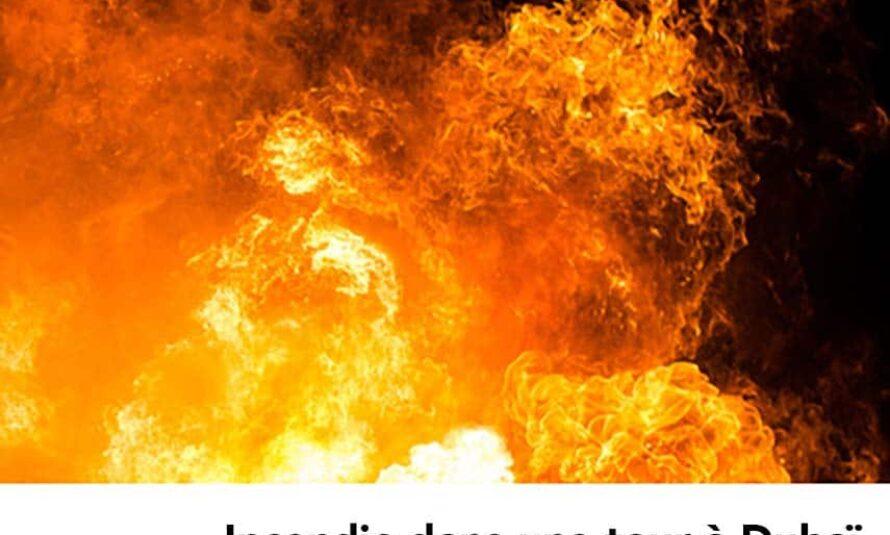 Vidéo : Incendie en cours dans un hôtel à Dubaï