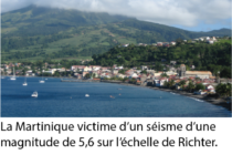 Un séisme secoue la Martinique