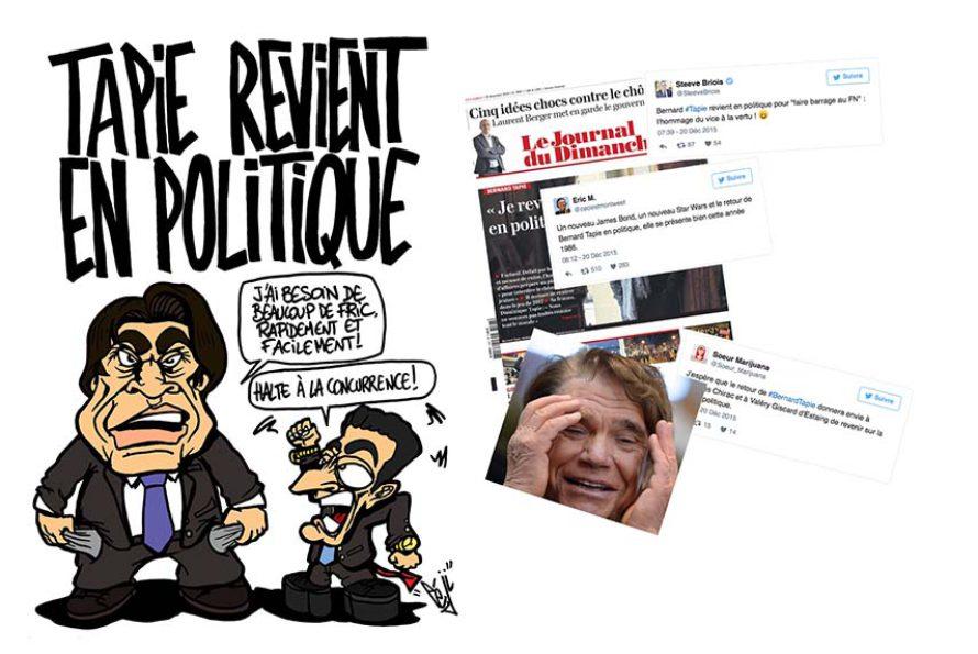 Bernard Tapie : Il annonce son retour en politique pour 2016