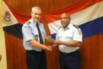 Sint Maarten police report : Commander of the KMAR visits KPSM management