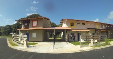 Les logements sociaux créeé à Sainte-Agathe par la SEMSAMAR