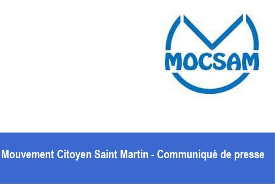 Mouvement citoyen Saint Martin – Communiqué de presse (FR-EN)