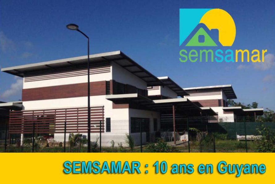 Pour ses 10 ans en Guyane, la SEMSAMAR propose de découvrir ses réalisations et projets sur le territoire
