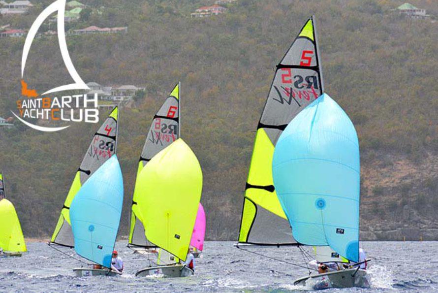 Vacances de Pâques , comme chaque année, le Saint Barth Yacht Club organise des stages de voiles