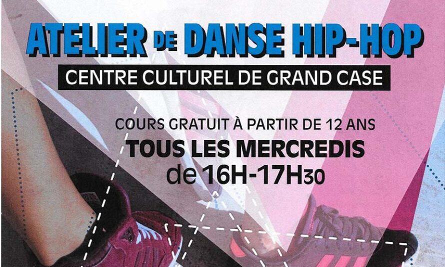 Nouveau cours de Hip-Hop GRATUIT au Centre Culturel de Grand-Case