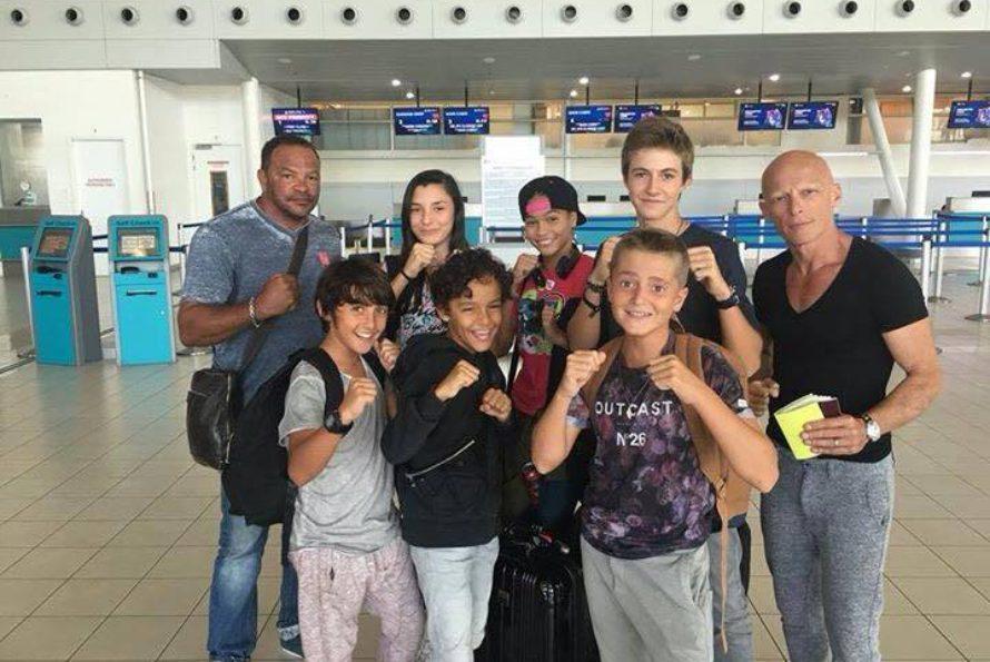 Déplacement de la Caribbean Karate Oyama à l'Open de France à Lyon