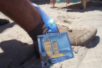 David REDOR USA Challenge – The Dewey Beach Marathon in Boxer Shorts and Street Shoes! Thank you, American Airlines !