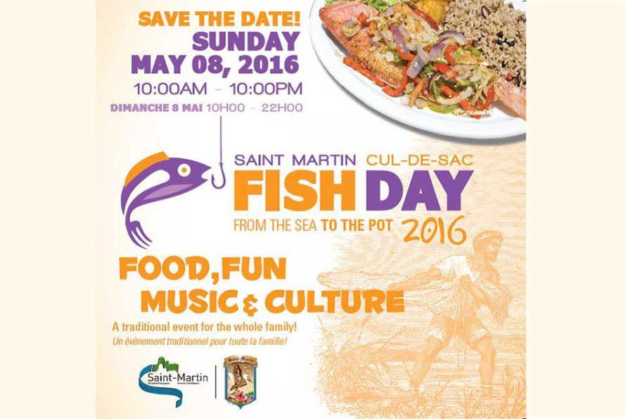FISH DAY : C'est le dimanche 08 mai 2016 à Cul de Sac !