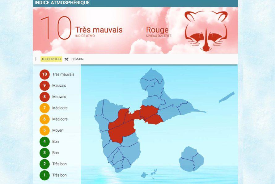 Pollution : les brumes de sable sont de retour, les Antilles et la Guyane en alerte rouge