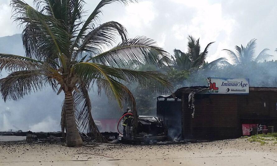Incendie du Jet Club sxm au Boo Boo Jam watersport : Fredo Lavocat de retour sur l'île a besoin de vous !