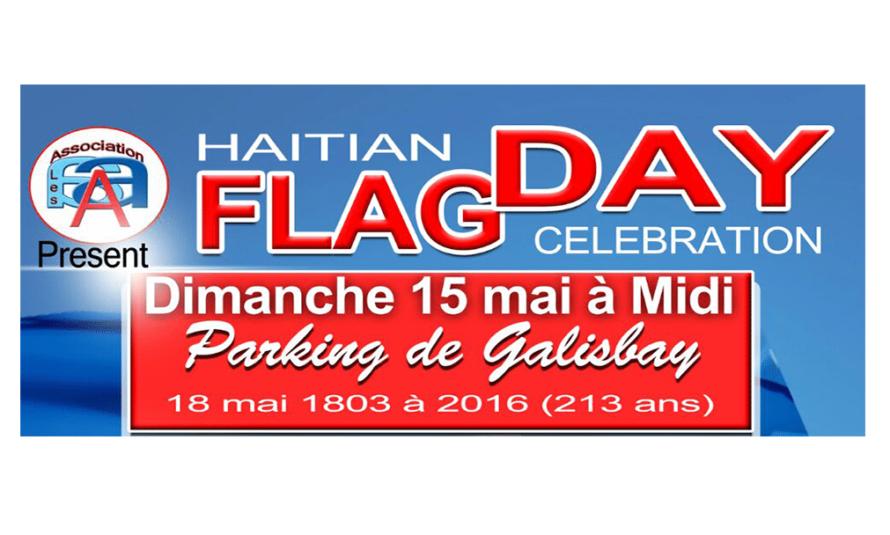 """Culture haïtienne à travers l'art : Célébration du """"213ème anniversaire du Bicolore"""" dimanche 15 mai 2016"""