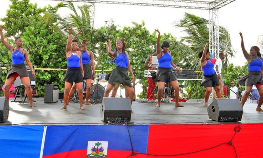Saint-Martin : L'association haïtienne « Les A » fête le drapeau haïtien