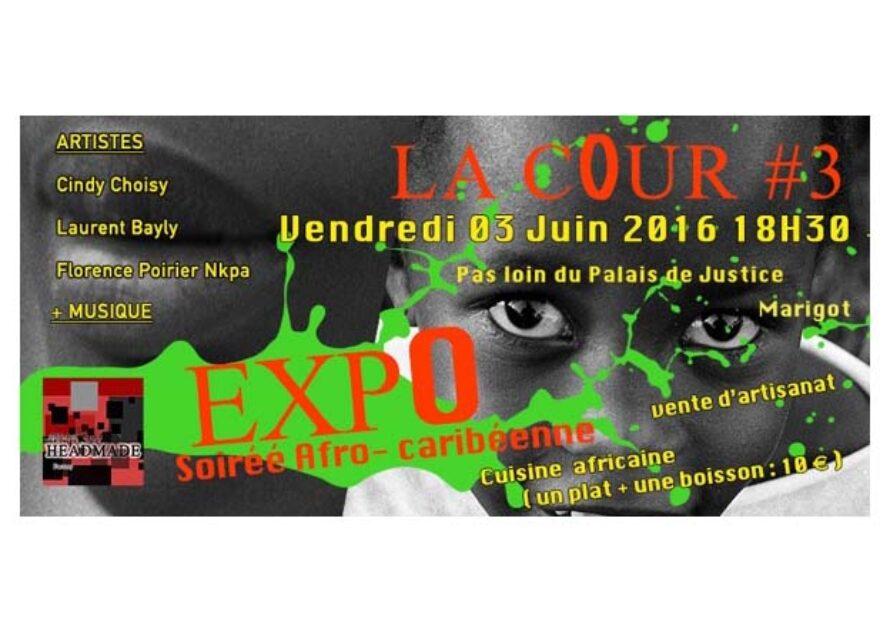 Exposition : soirée AFRO-CARIBEENNE & VENTE d'œuvres au profit des actions de HeadMade Factory