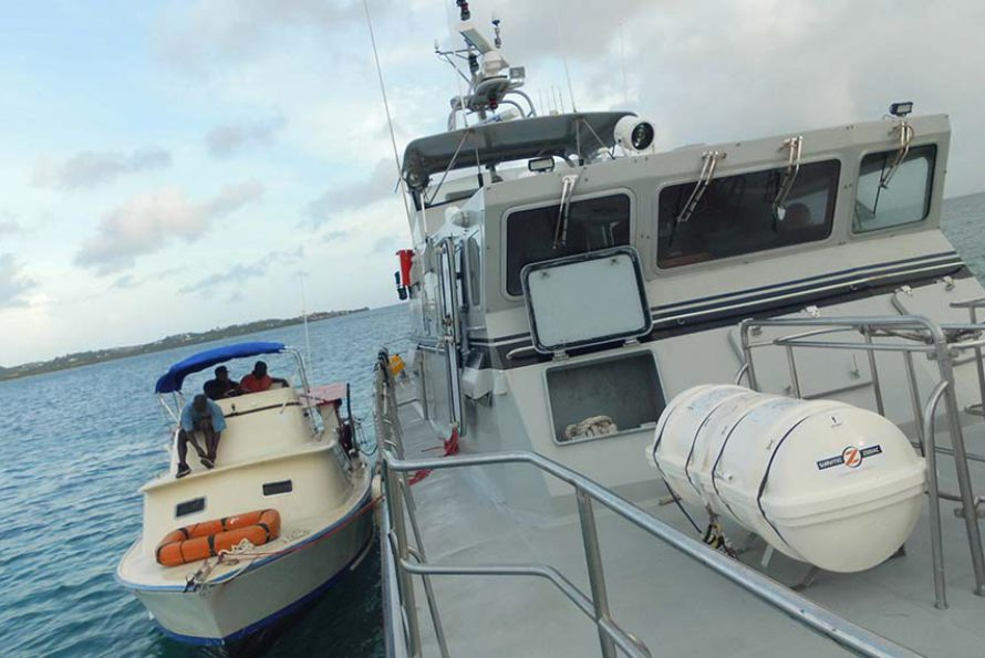 En dehors de la lutte contre le trafic de stupéfiants, voici un autre aspect de l'activité des douanes : les missions SAR (Search and Rescue)