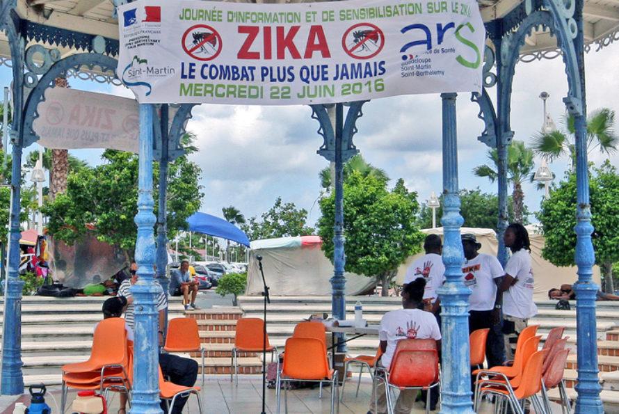 Zika : Saint-Martin en phase épidémiologique