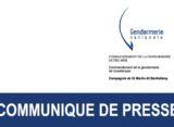 Gendarmerie Nationale : Campagne de prévention et de lutte contre les vols à la roulotte – Saint- Barthélémy / Saint-Martin
