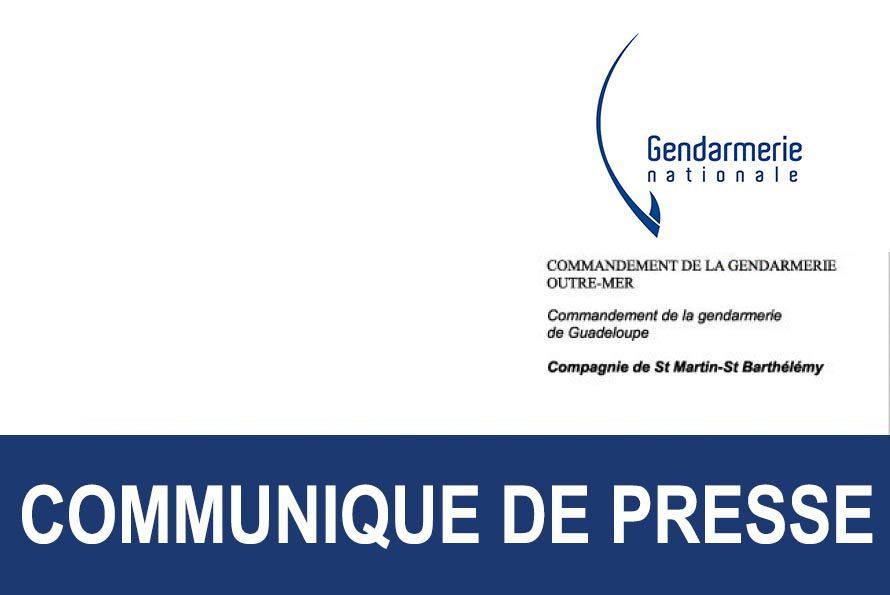 Gendarmerie :  Résultats d'enquête de la découverte d'un cadavre le 26 mai 2016 sur une plage à la Baie Nettlé