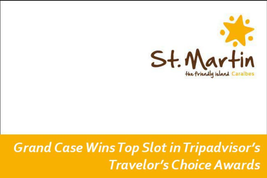 Grand Case Wins Top Slot in Tripadvisor's Travelor's Choice Awards