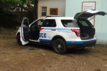 Sint Maarten police report : Suspect drives away with police vehicle