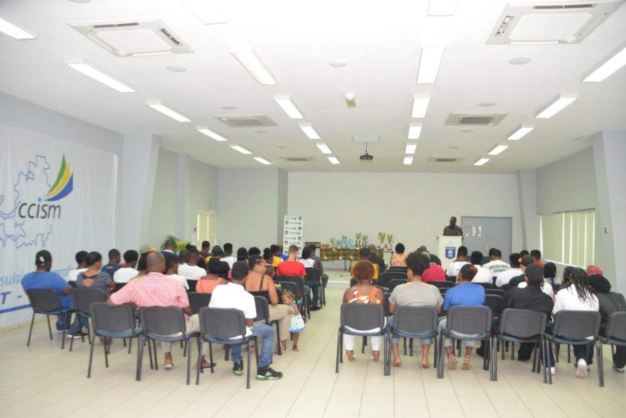 Samedi dernier à la CCISM se déroulait l'assemblée générale élective du Comité Territorial de Basketball