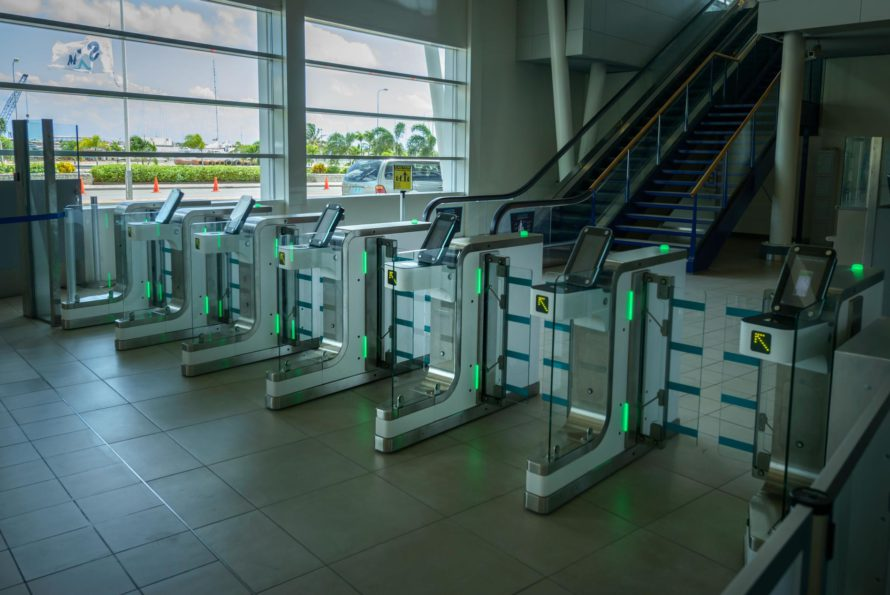 SXM Airport Installs Bar Code Boarding Pass e-Gates For Faster Passenger Processing