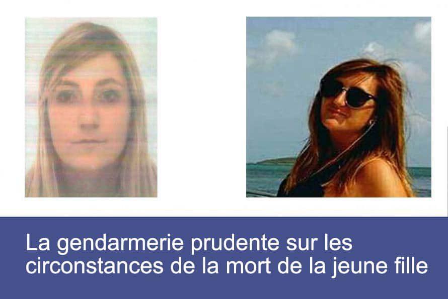 Wendy : La gendarmerie prudente sur les circonstances de la mort de la jeune fille