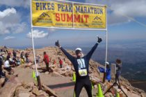 35th marathon for David Redor in Colorado. America's ultimate challenge: Pikes Peak!