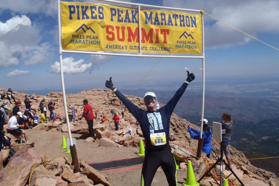 35th marathon for David Redor in Colorado. America's ultimate challenge: Pikes Peak!