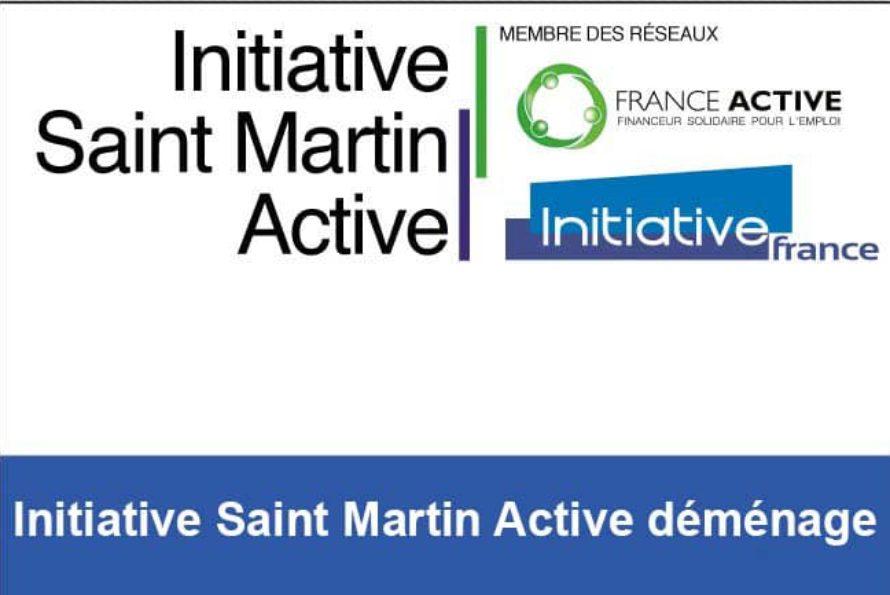 Initiative Saint Martin Active déménage le vendredi 2 septembre 2016 dans ses nouveaux locaux !