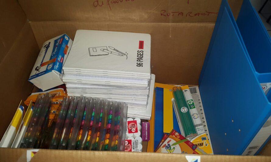 ROTARACT Saint-Martin Nord : Récolte de fournitures scolaire